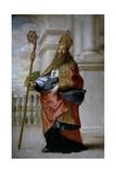 Saint Ambrose  Ca 1655