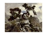 En Las Cumbres (Picos De Europa)  Ca 1874