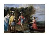 Separación De Armida Y Reinaldo  1628-1630