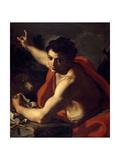 Saint John the Baptist  Ca 1730