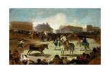 Bullfight in a Village  1815-1819