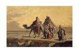 Desert Scene  C 1863