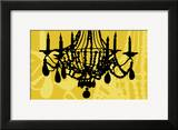 Chandelier 6 Yellow