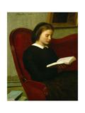 Woman Reading  1861