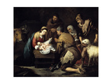 The Adoration of the Shepherds  Ca 1657