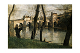 The Bridge at Mantes  1868