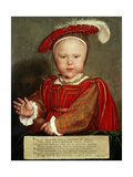 Edward Vi as a Child  C 1538