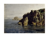 Rocas de Santa Catalina (Lequeitio)  ca 1872
