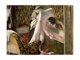 Woman Leaving Her Bath  1877