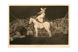 Disparate Puntual Una Reina Del Circo  1815-1819