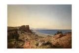 Un Paisaje  Recuerdos de Andalucía  Costa del Mediterráneo  Junto a Torremolinos  1860