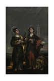 Saint Justa and Saint Rufina  1817