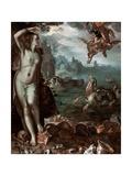 Perseus Rescuing Andromeda  1611