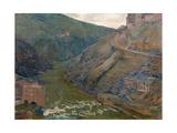 The Tagus  Toledo  1905