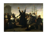 The Arrival of the Pilgrim Fathers  1863