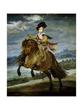 Prince Baltasar Carlos on Horseback  1634-1635