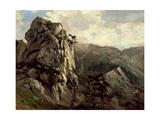Rocks (Puerto De Pajares)  Ca 1874