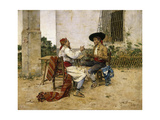 Two Inhabitants of the Valencia Huerta  1880-1890