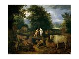 Adán Y Eva En El Paraíso  Ca 1618