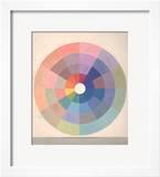 Rudolph Schaeffer  Color Wheel; Archive of American Art