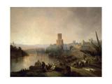 Sevilla En Tiempos De Los Arabes  1848