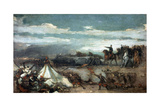 Episodio De La Batalla De Tetuan  1860