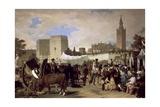 La Feria De Sevilla  1855