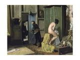 The Untimely Visit  Ca 1868
