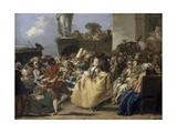 Carnival Scene  18th Century