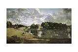 English School. Wivenhoe Park, Essex Giclée par John Constable