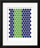 Blue Green Dots