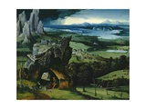 Landscape with Saint Jerome  1516-1517