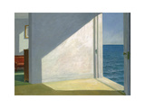 Chambres au bord de la mer, 1951 Reproduction d'art par Edward Hopper