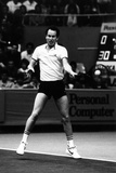 John Mcenroe Playing a Forehand Shot