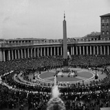 Casket of Pope John XXIII Passing Through Saint Peter's Square