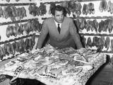 Salvatore Ferragamo in His Shoe Manufacturing