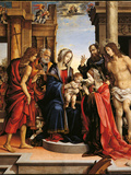 Mystical Marriage of St Catherine with Sts Paul