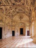 Galleria Dei Mesi in the Rustica (Ducal Palace Complex in Mantua)