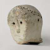 Head with Raggiera From Monte Saraceno