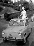 Models on Board Fiat 600