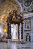 Canopy of Saint Peter in Vatican