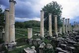 Tiberium Portico  1st C AD Aphrodisias  Turkey  Ruins of Main City Square