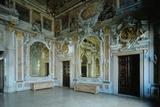 Ballroom in Ca' Zenobio in Venice