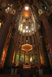 Astounding Architecture in Antoni Gaudi's La Sagrada Familia Cathedral