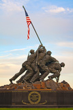 The Marine Corps War Memorial  also Called the Iwo Jima Memorial
