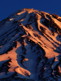 Sunrise on Mount Damavand  a Spectacular Live Volcano in the Alborz Mountains  Iran