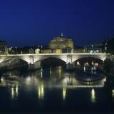Vittorio Emanuele II Bridge and Castel Sant'Angelo