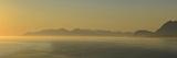 Miidnight Sunlight Illuminates a Fjord