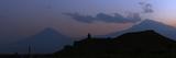 Evening Twilight Sky over Mount Ararat's Eastern Slope