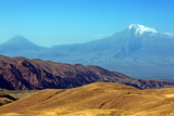 Mount Ararat  or Agri Dagi Eastern View  as Seen from Armenia